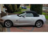 Bmw z4 convertible roadster 55 reg manual px swap