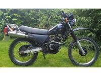 Suzuki DR 125 Trail bike