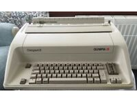 Electric typewriter Olympia Compact S