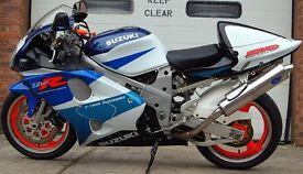 1998 SUZUKI TL1000R TL 1000 R BLUE/WHITE MINT CONDITION 9K MILES