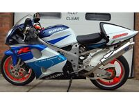 1998 SUZUKI TL1000R TL 1000 R BLUE/WHITE MINT CONDITION 9K MILES