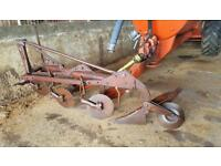 Bamford 3 fur 12 inch plough