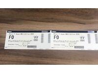 2 x Ticket Moto GP Netherlands Assen TT circuit ALL WEEKEND Ossenbroeken tribune