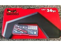 Teng Tools 1/4 36 pc socket set