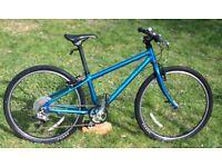 Islabike Beinn 24 teal. Age 7+. Can courier. Isla bike