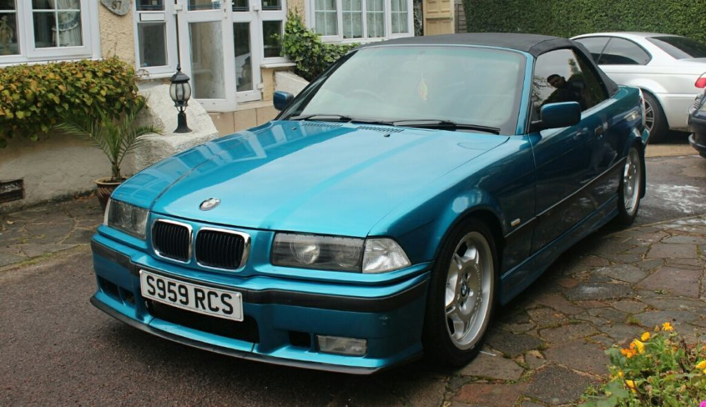 bmw e36 convertible in leicester leicestershire gumtree. Black Bedroom Furniture Sets. Home Design Ideas