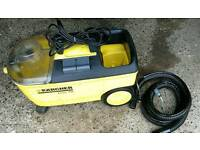 Karcher puzzi 100. Wet and dry vac.
