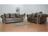 BRAND NEW WINDSOR 3 SEATER + 2 SEATER SOFA SET - FAST FREE U.K DELIVERY