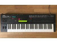 Yamaha DX7 IIFD FM Synth with cartridge