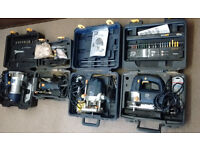 Pro Power Tool Set (4 Power Tools Boxed £100 the lot)