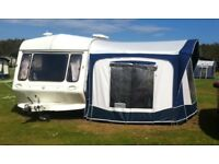 1992 Coachman Caravan 4 Berth ( Spares or Repair) and Bradcot Classic Awning