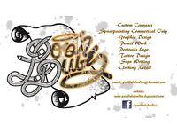 graffiti artist & graphic artist & clothing retail