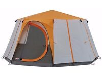 COLEMAN CORTES OCTAGON 8 TENT or GAZEBO NEW
