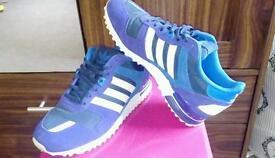 Purple addidas trainer