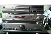 Technics HI-FI, tuner, compact dis player, amplifer for sale.