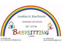 Babysitting Lenka and Barbora