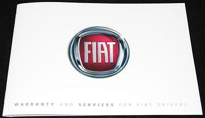 General Fiat Service History Warranty Book Manual New and Genuine 60395957
