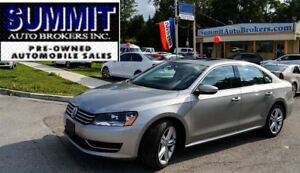 2012 Volkswagen Passat Comfort-Line | LEATHER | ROOF | HEATED SE
