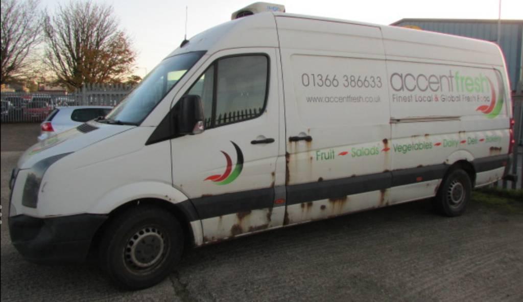 Vw Crafter cr35 109 lwb tdi refrigeration van | in Norwich, Norfolk |  Gumtree