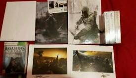 Rare Assassins creed 3 limited artbook