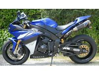 YAMAHA R1 14B 2009 VERY LOW MILEAGE 100% MINT MUCH UPGRADED INC. OHLINS/DYMAGS/NITRON ETC