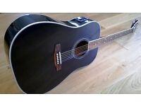 Westfield Electro-Acoustic Guitar WF500NBK-BD Full Size Dreadnought