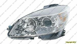 Headlight Driver Side Halogen (Made Before 09/02/2007) High Quality Mercedes C-Class 2008