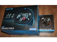 LOGITECH G29 - STEERING WHEEL + PEDALS + GEAR SHIFTER -PS4/PS3/PC- NEW SEALED