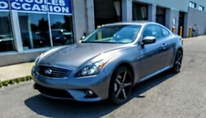 2012 INFINITI G37X COUPE AWD SPORT PACKAGE CUIR,TOIT,AUTO,2 SET