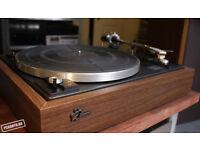 Sansui SR-212 2-Speed Belt-Drive Auto Return Vinyl Record Player