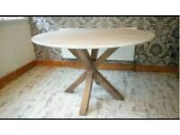 New marble table