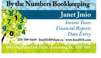By the Numbers Bookkeeping -Armstrong, BC
