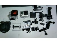 GoPro HERO4 Black Edition + EXTRAS