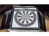 Sealey professional dart board set. Ideal for pub club or man den. NEW with darts