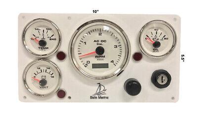 Beta  Marine engine instrument panel pre wired # USA Made