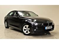 BMW 3 SERIES 2.0 320D EFFICIENTDYNAMICS 4d 161 BHP + AIR CON + (black) 2013