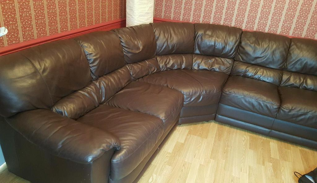 Stupendous Nicoletti Italian Brown Leather Corner Sofa Mint With Tags In Horsforth West Yorkshire Gumtree Ncnpc Chair Design For Home Ncnpcorg