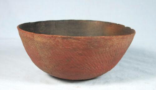 Salado corrugated bowl ca. 1000 to 1350 ad. NO RESTORATION
