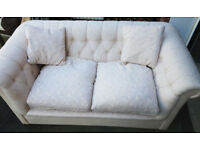 Coloroll Chesterfield sofa bed with Lampolet Spring mattress mechanism