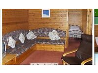 Holiday chalet for rent.