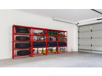 METAL SHELVING + 9MM MDF BOARDS !!! FREE DELIVERY shop office shed garage container racking shelves