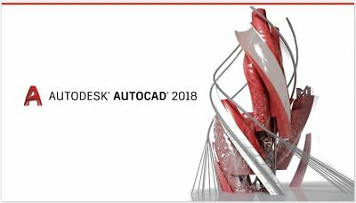 Autodesk Autocad 2017 2018   Fast Digital Download   3 Year License Software Key