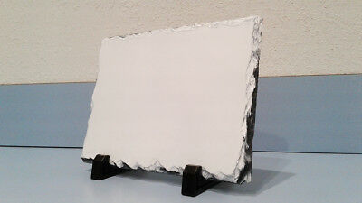 Sublimation Natural Rock Slate Blank -1 Pc 7 X 6 High Coating Quality