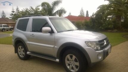 2007 Mitsubishi Pajero X NS Auto 4x4 Ocean Reef Joondalup Area Preview