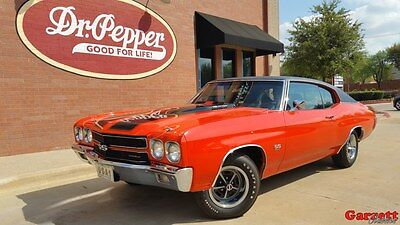 """1970 Chevrolet Chevelle SS 454 1970 Chevelle SS454 LS-6 Early Production #""""s matching Rotisserie restored VIDEO"""