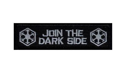 Join The Dark Side Star Wars Morale 3 75 Inch Velcro  Brand Patch  Mtj1