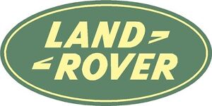 Landrover Printed Decal Sticker - Brand new - Superb Quality