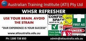Brisbane - WHSR Refresher Course! Sandgate Brisbane North East Preview