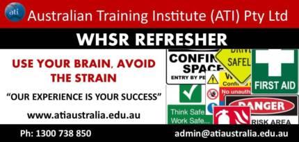 WHSR Refresher Course! (BRISBANE)