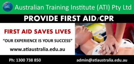 First Aid / CPR Training - (BRISBANE) Enrol NOW!